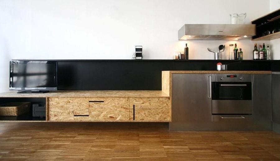 cocina OSB