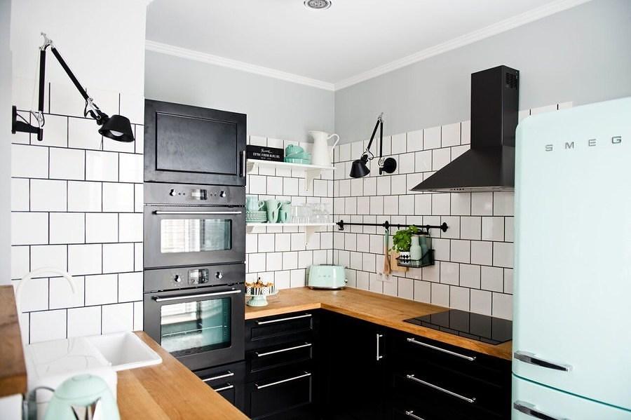 Cocina pequeña y multifuncional