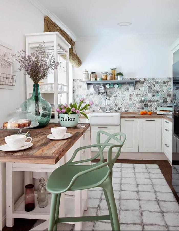 Cocinas cerradas con cristal cool cocinas abiertas o for Cocinas americanas cerradas
