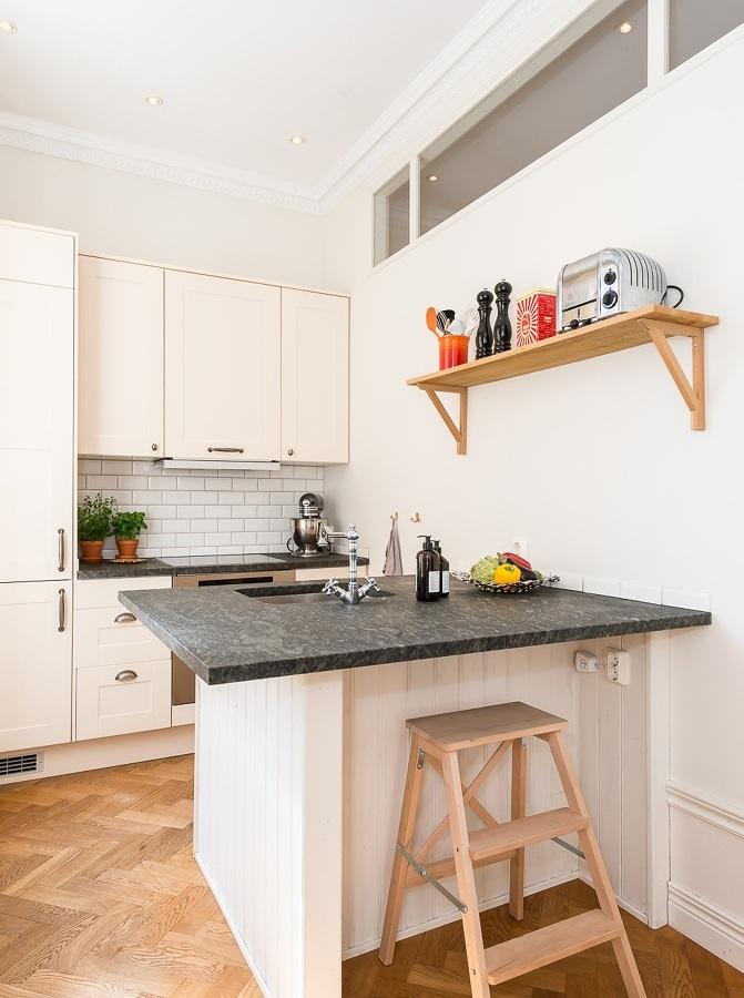 8 cocinas peque as donde todo tiene su lugar ideas for Remodelacion de cocinas pequenas
