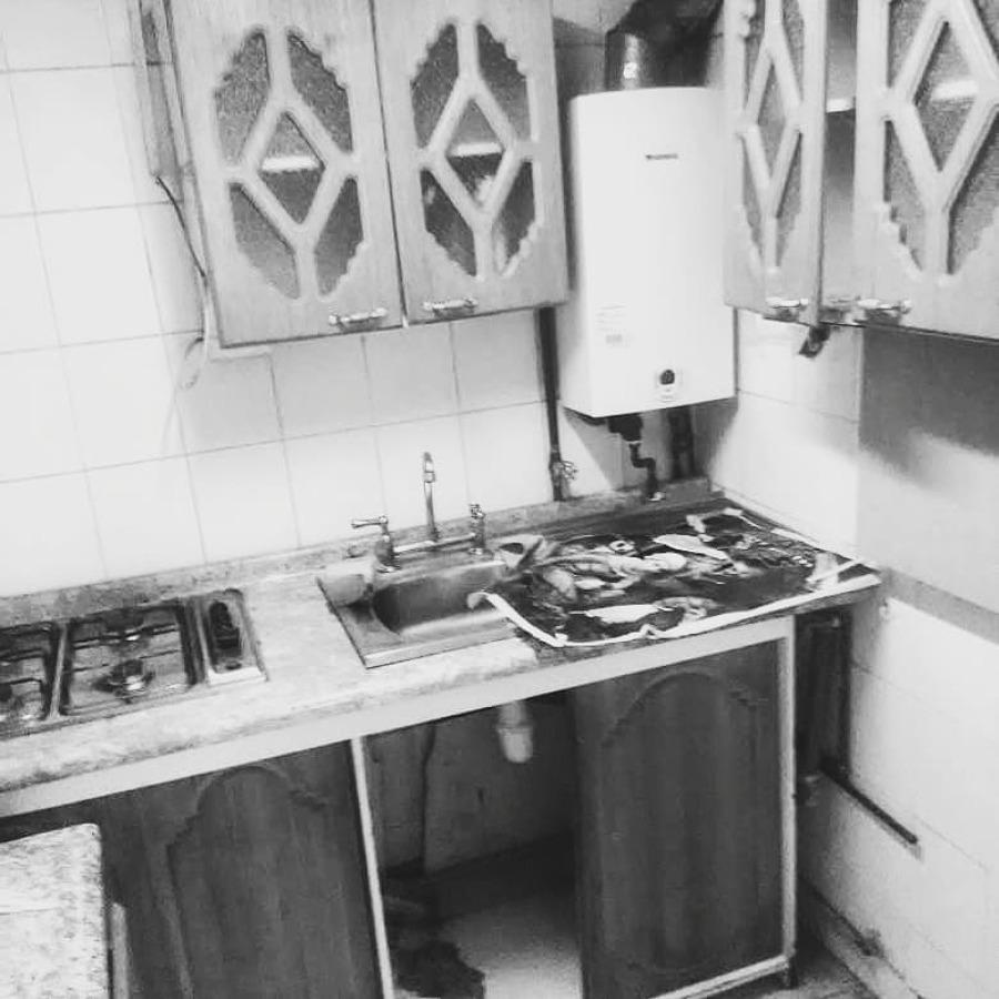 Cocina sin remodelación