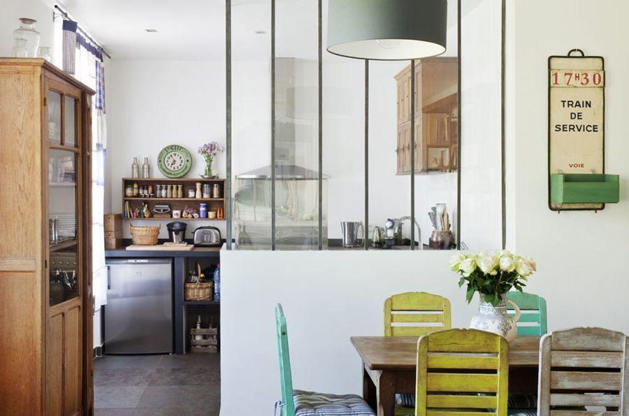 foto medios muros y vidrio como elementos divisores 184662 habitissimo. Black Bedroom Furniture Sets. Home Design Ideas