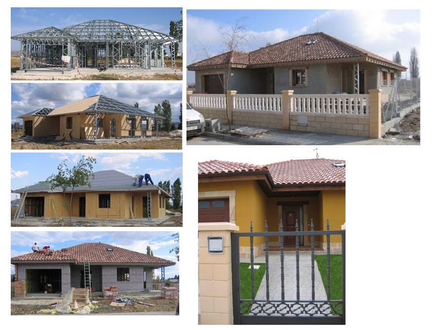 Casas de estructura metalica free casas de estructura - Casas con estructura metalica ...