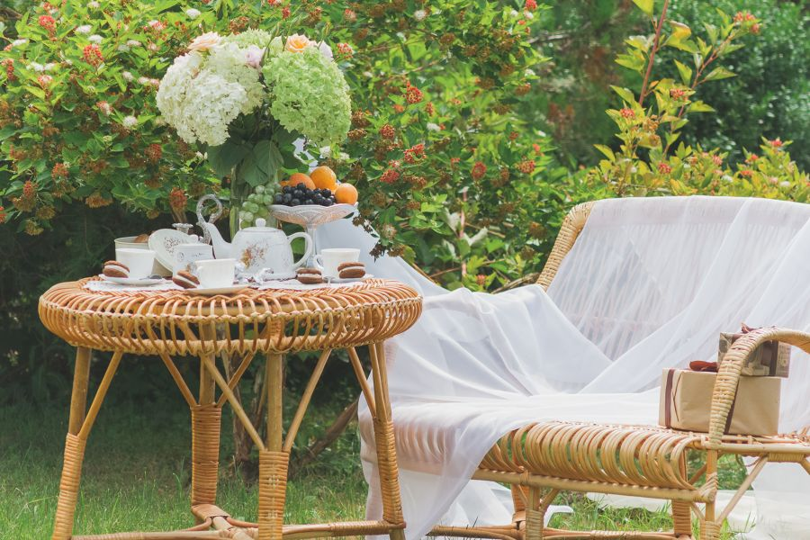 comedor de terraza