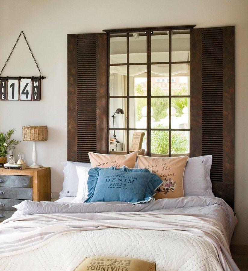 Amplia ventana en dormitorio