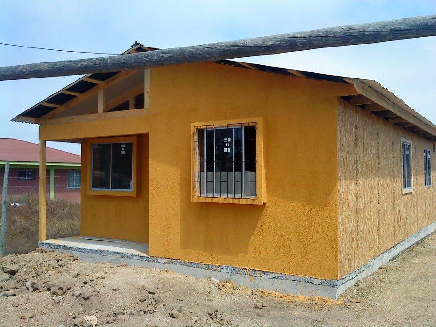 Construcción cabaña.