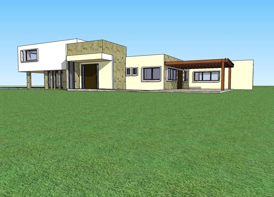 Construcción Casa 250 M² Estilo Mediterranea