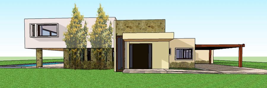 Construcción Casa 250 M2 Estilo Mediterranea