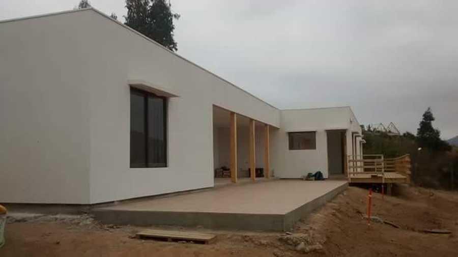 Construcción casa en limache
