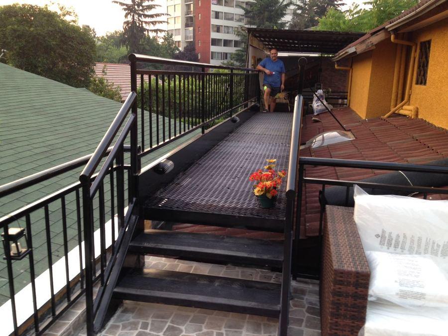 Estructuras para terrazas panormicos y estructuras de for Terrazas metalicas