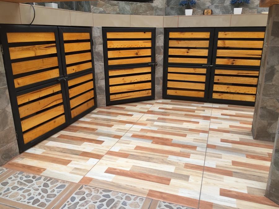 Construccion e instalacion puertas quincho