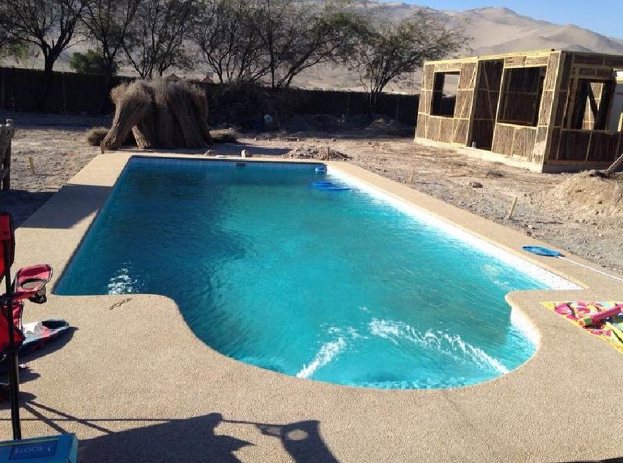 Foto copiapo piscina 8x4 enero 2015 de construcci n de for Construccion de piscinas en chile