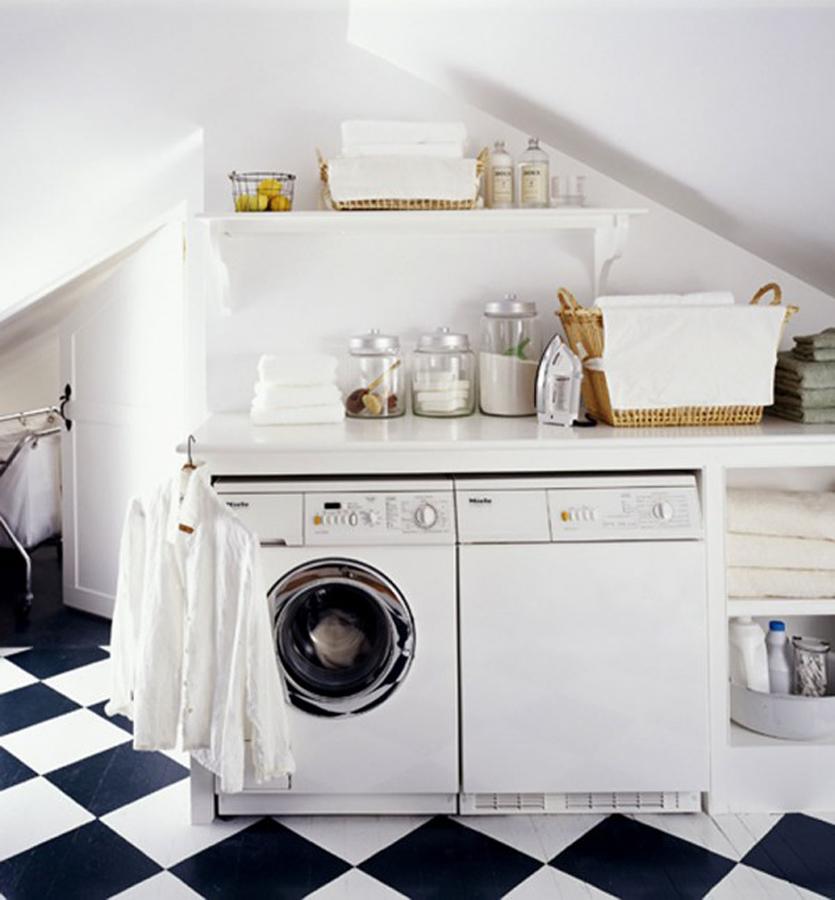 Muebles para lavadora y secadora estantera para bao for Mueble para lavadora
