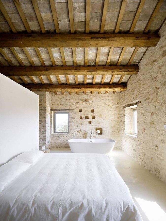 techo de una casa rural