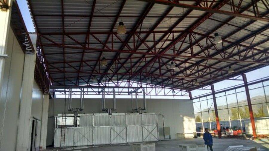 Galpones ideas construcci n galp n for Cubiertas para techos livianas