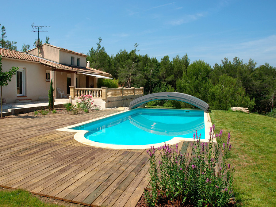 Foto cubierta telesc pica en piscina 176160 habitissimo for Piscina cubierta linares