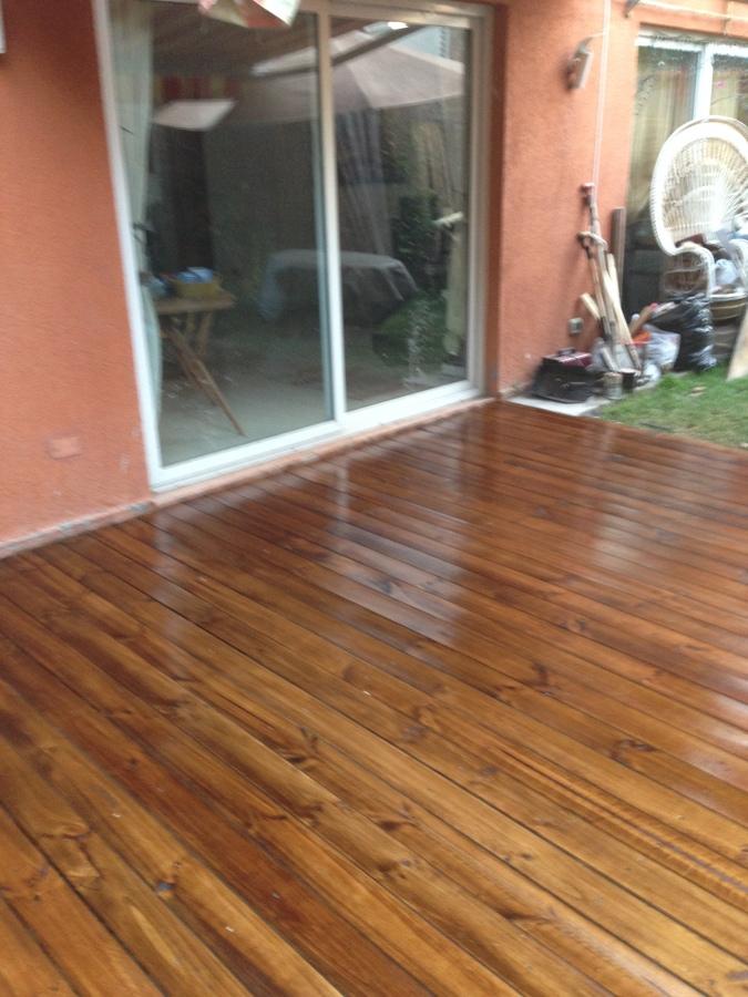 Deck impermeabilizado