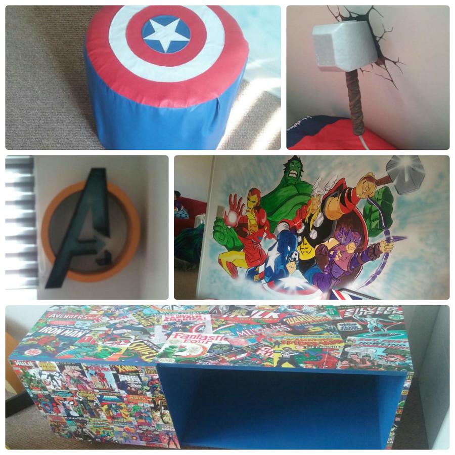 Decoración Avengers