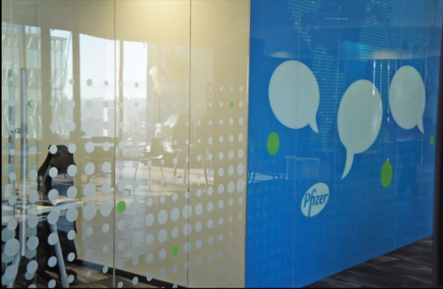 Decoracion de vidrios y Mural en vidrio