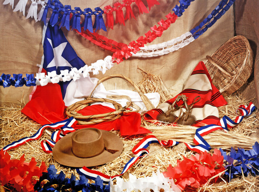 decoración fiestas patrias chile