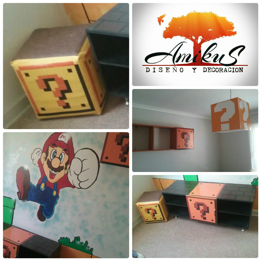 Decoración Mario Bross 1