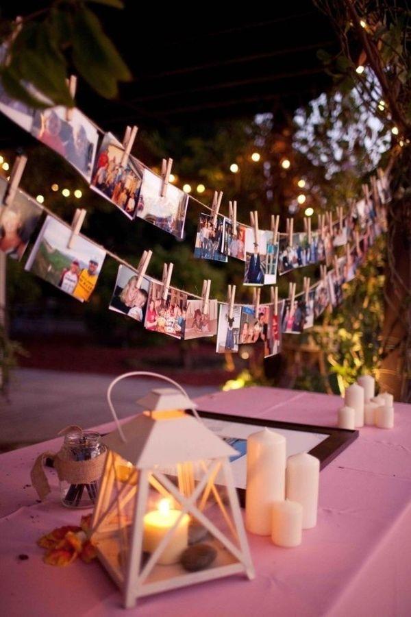 decorar bodas con fotos