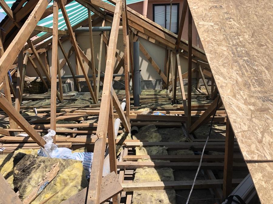 Demolición cubierta 2