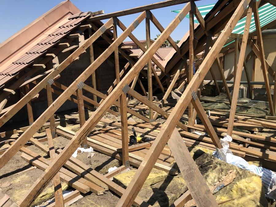 Demolición cubierta 3