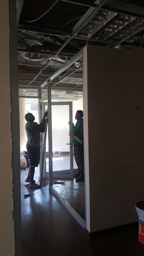 Demolición oficinas