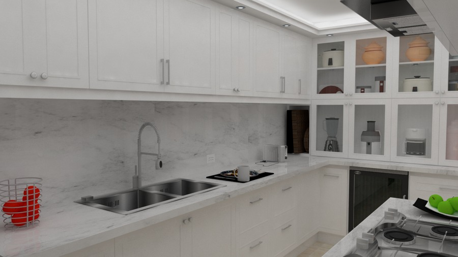 Lujoso Cocinas De Diseño Baños Inc Bosquejo - Ideas Del Gabinete de ...