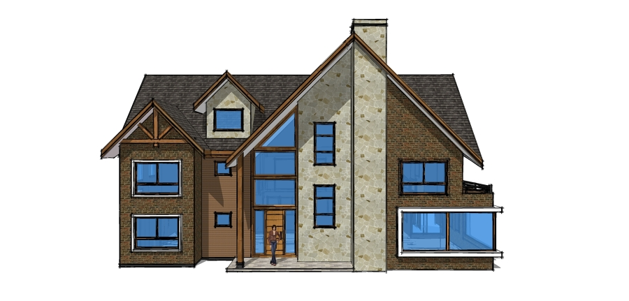 Foto dise o casa fundo el venado 335m2 de rgs arquitectura y construcci n 109511 habitissimo - App diseno casas ...