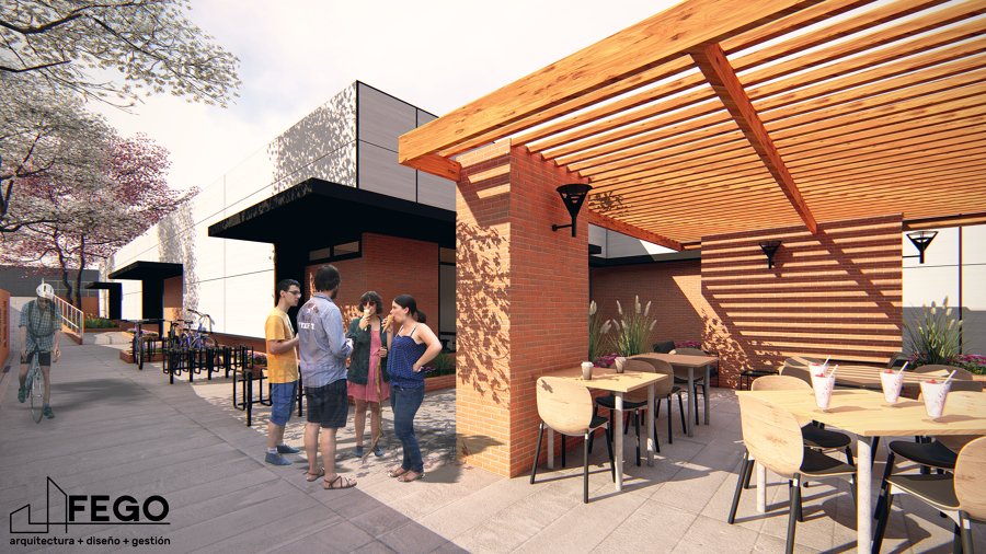"""Diseño Local Comercial """"El Rosario"""""""