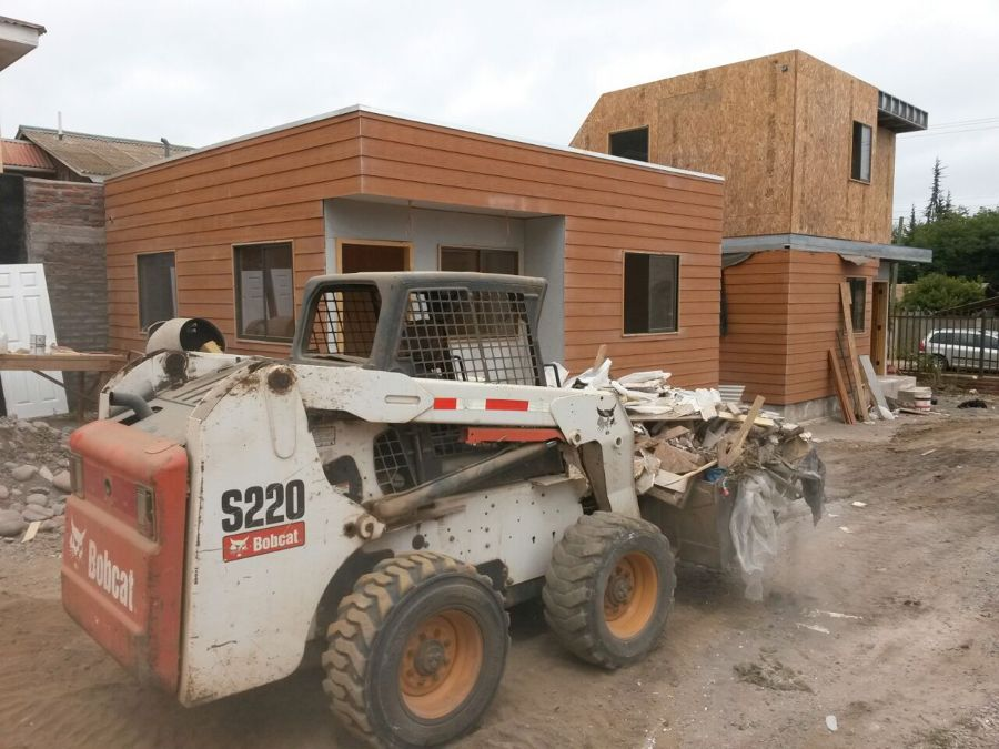 Diseño y construcción de casas en metalcom y siddin de fibrocemento