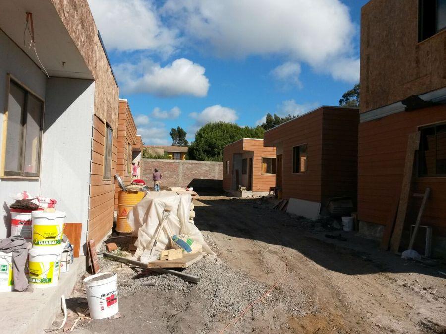diseño y construcción de conjunto habitacional