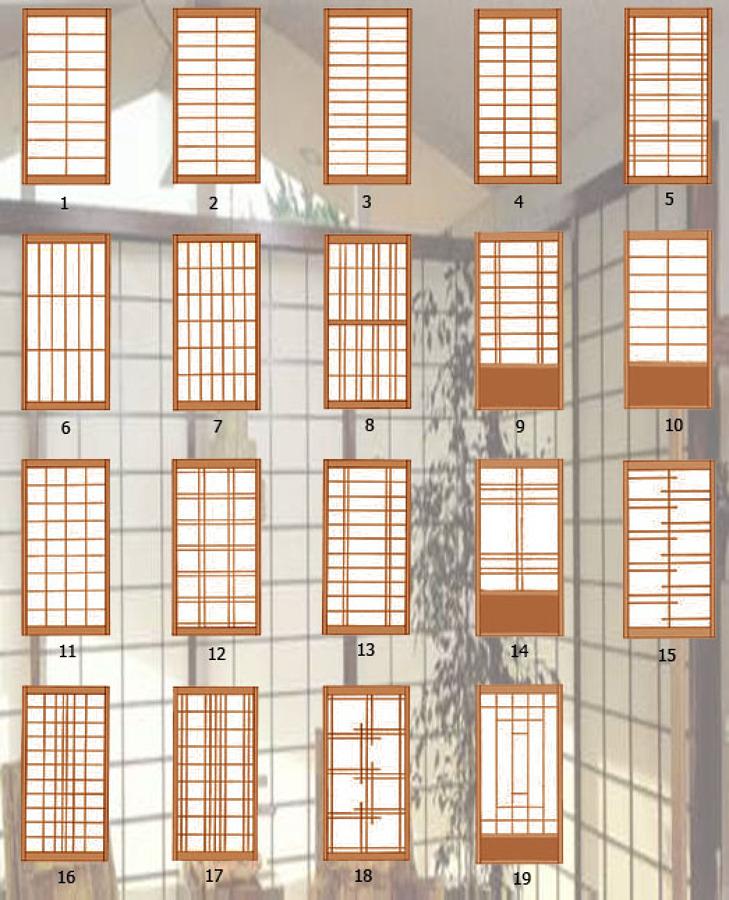 Separadores de ambiente puertas correderas plegables for Puertas japonesas