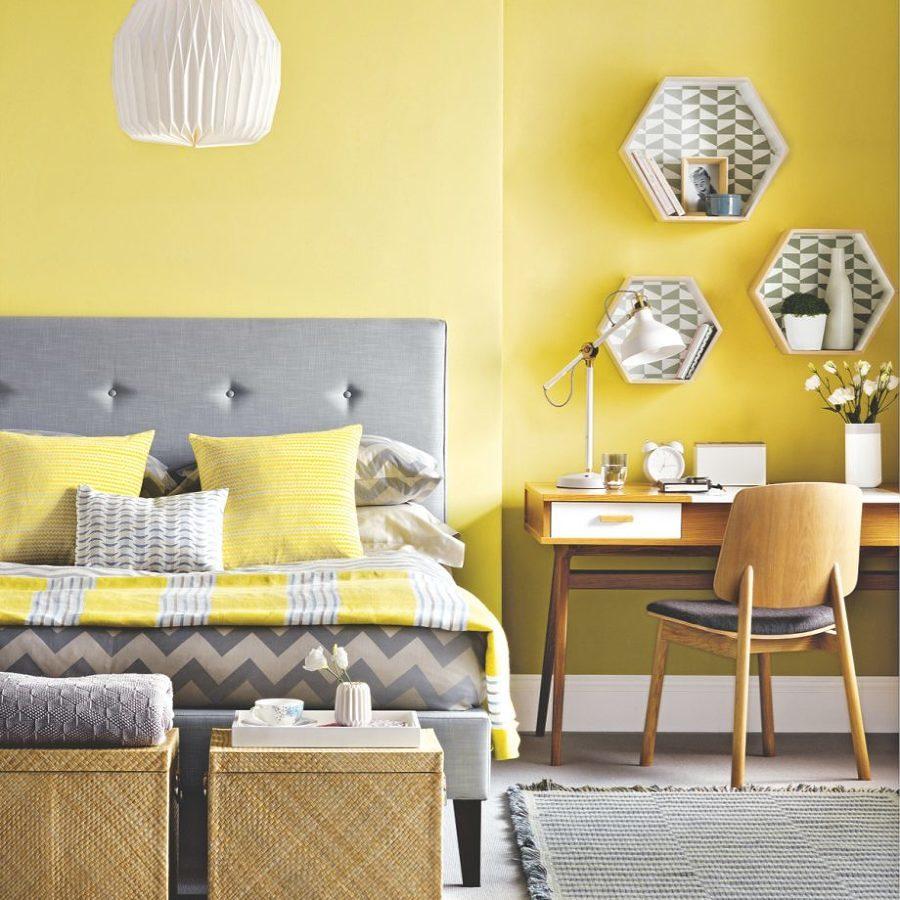 Dormitorio amarillo Primrose