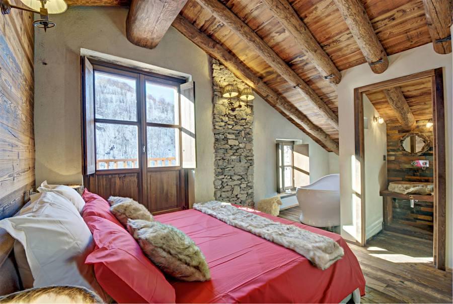 Dormitorio en casa rural