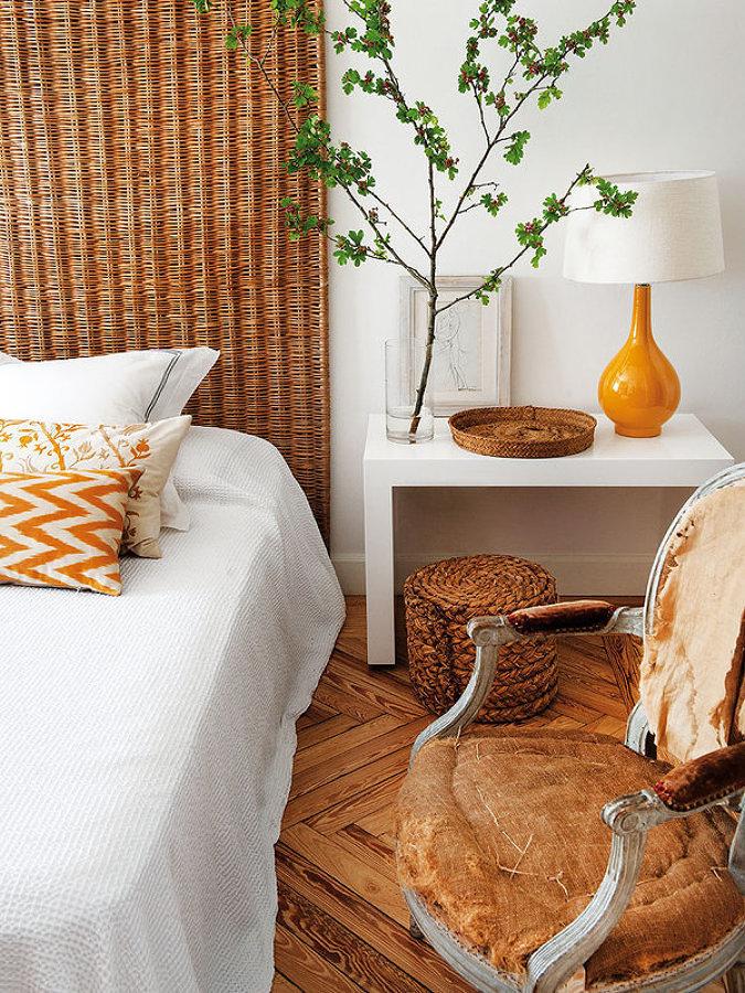 Dormitorio mal decorado