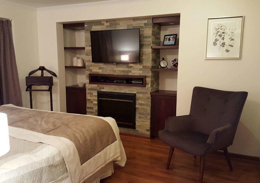 Casa huechuraba dormitorios ideas dise o de interiores for Dormitorio principal