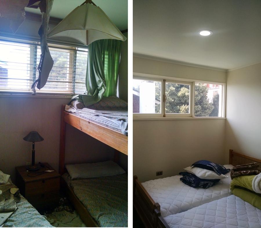 Dormitorio Tipo  Antes-Despúes