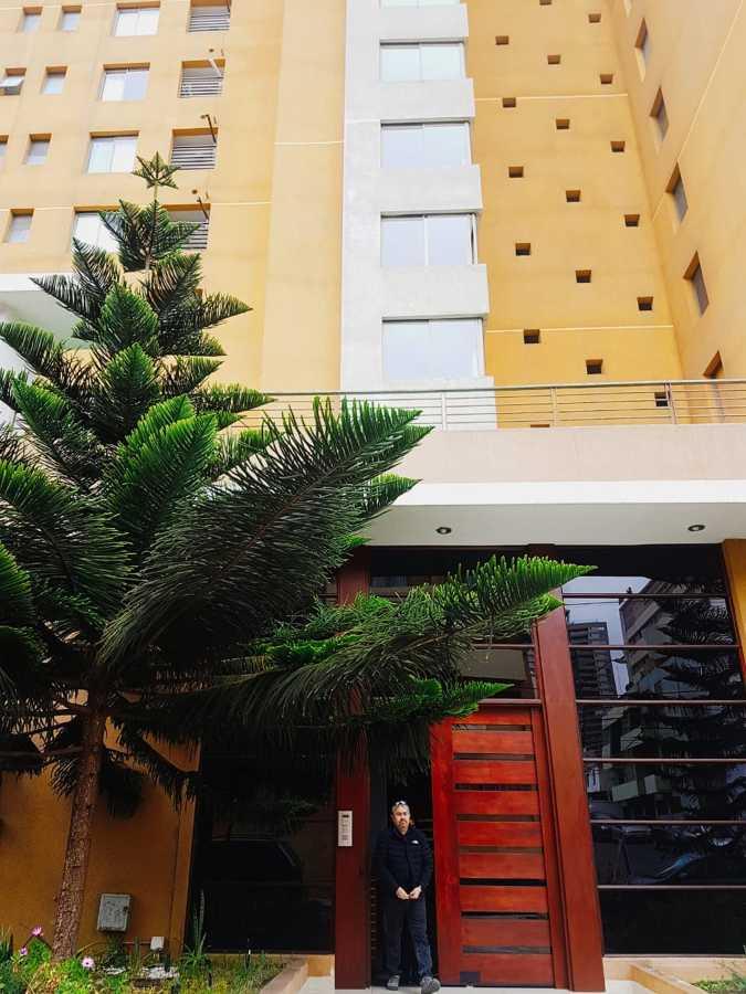 Edificio donde se remodelo el departamento