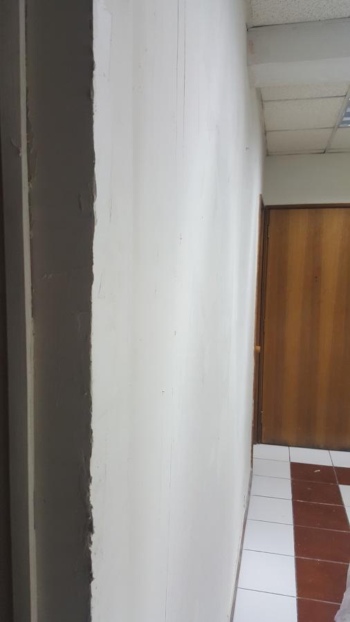 Empaste de muro previo al lijado