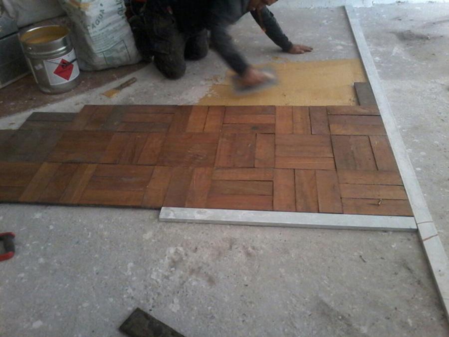 Instalaci n pulido y vitrificado de piso parquet ideas pisos madera Instalacion piso madera