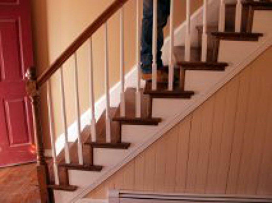 Foto entrega de escaleras acceso segundo piso de idea tu for Pisos para escaleras de concreto