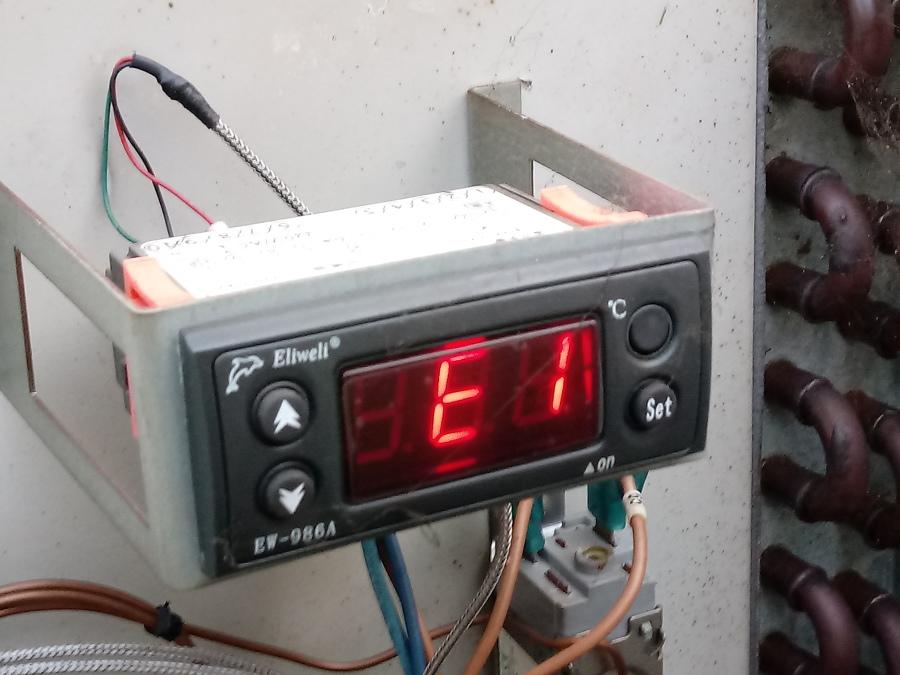 Error de sensores de temperatura