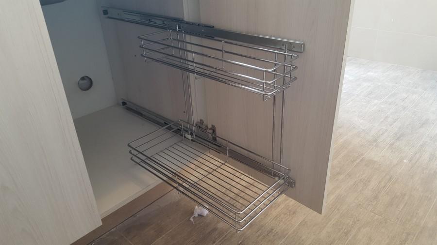 Foto Especiero Para Detergente En Mueble Lavaplato De