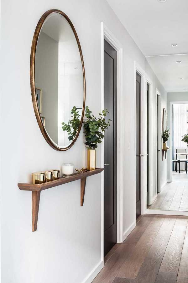 Qu hacer y que no al decorar la casa con espejos for Espejo redondo pequeno
