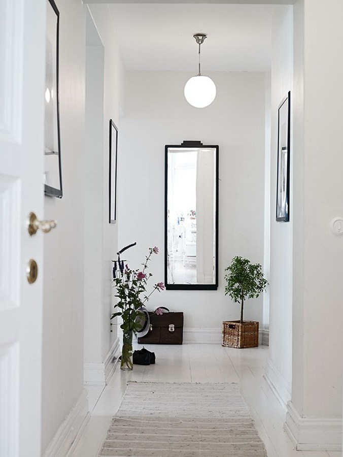 espejo vertical pasillo