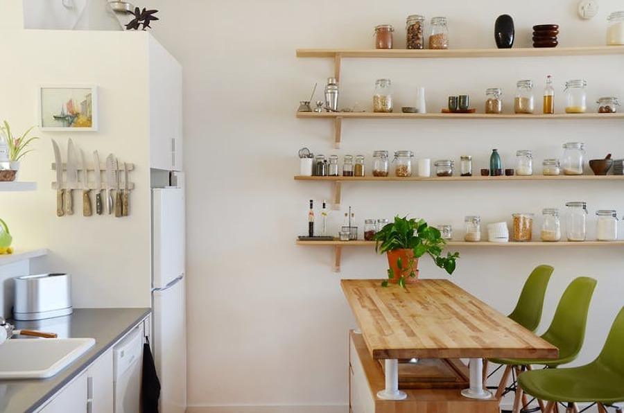 baldas en cocina