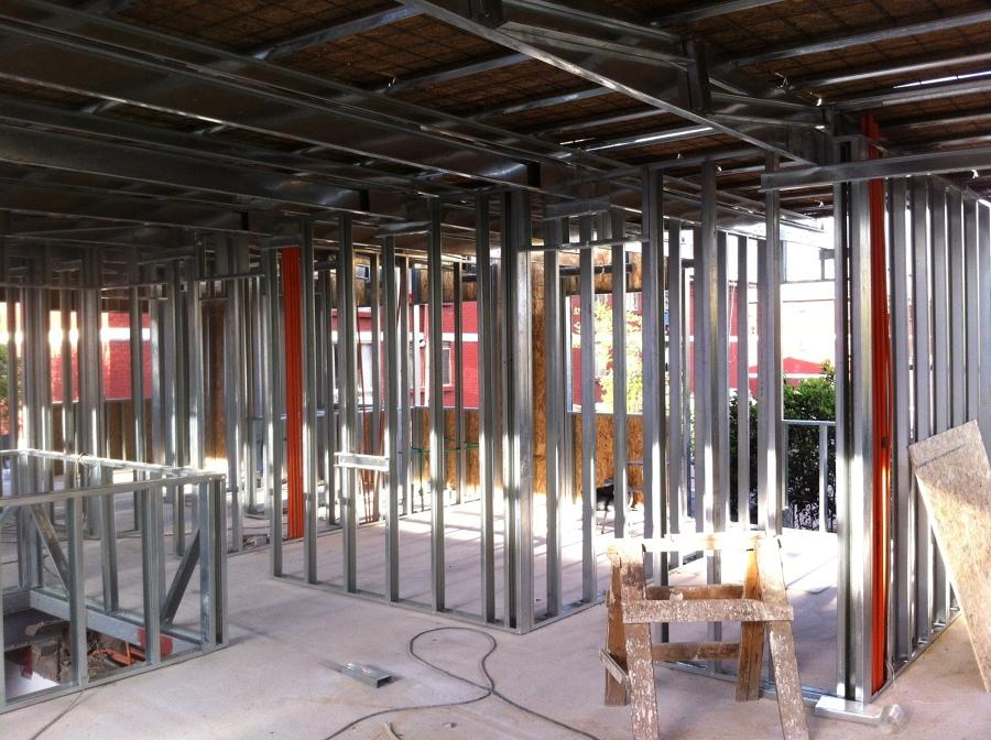 Foto estructura de volco metal 2 piso de constructora - Estructura de metal ...